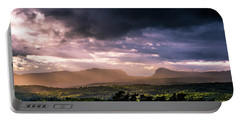 Rain Showers Over Willoughby Gap Portable Battery Charger