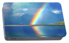 Portable Battery Charger featuring the photograph Rainbow 3 by Marty Koch
