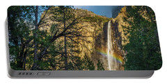 Rainbow And Bridalveil Fall Portable Battery Charger