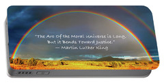 Martin Luther King - Justice Portable Battery Charger