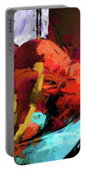 Rainbow Apples Red Graffiti Yellow Portable Battery Charger