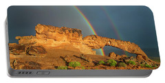 Rainbow Arch Portable Battery Charger