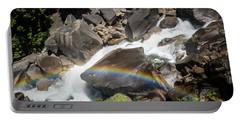 Rainbow At Vernal Falls- Portable Battery Charger