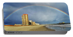 Portable Battery Charger featuring the photograph Rainbow Beach by Kelly Reber