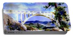 Rainbow Bridge Above Donnerlk#2 Portable Battery Charger