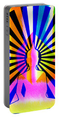 Rainbow Buddha Portable Battery Charger