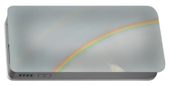 Rainbow Clouds Portable Battery Charger