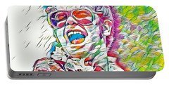 Rainbow Colors Elton John Portable Battery Charger