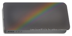 Rainbow Connection Portable Battery Charger