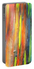 Rainbow Eucalyptus Kauai Hawaii 7r2_dsc5062_01162018-2 Portable Battery Charger