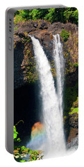 Portable Battery Charger featuring the photograph Rainbow Falls I by Patricia Griffin Brett