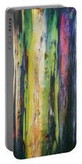 Rainbow Grove Portable Battery Charger by Ryan Manuel