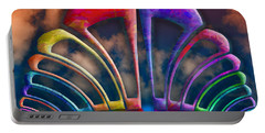 Portable Battery Charger featuring the photograph Rainbow Hill by Paul Wear