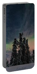 Rainbow In The Night Portable Battery Charger