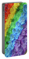 Portable Battery Charger featuring the photograph Rainbow by Liza Eckardt