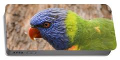 Rainbow Lorikeet Photographs Portable Battery Chargers