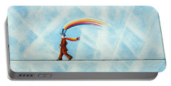 Rainbow Man Portable Battery Charger