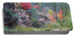 Rainbow Of The Season With River Portable Battery Charger