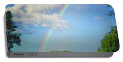 Rainbow On The Farm Portable Battery Charger