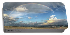 Rainbow Over Ocean Portable Battery Charger