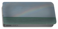 Rainbow Over Palm Beach Portable Battery Charger