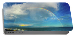 Rainbow Over Topsail Island Portable Battery Charger