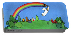 Rainbow Painter Portable Battery Charger