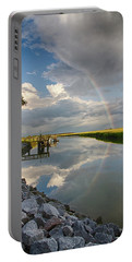 Rainbow Reflection Portable Battery Charger