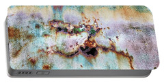 Rainbow Rust Portable Battery Charger by Karen Stahlros
