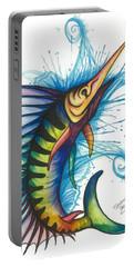 Rainbow Sailfish Portable Battery Charger