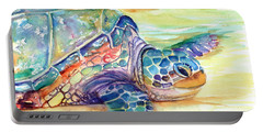 Rainbow Sea Turtle 2 Portable Battery Charger