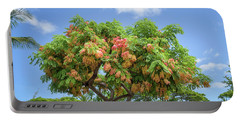 Portable Battery Charger featuring the photograph Rainbow Shower Tree 1 by Jim Thompson