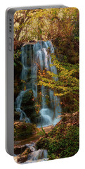 Portable Battery Charger featuring the photograph Rainbow Springs Waterfall by Louis Ferreira