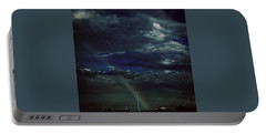 Rainbow Through The Storm  Portable Battery Charger by Frank J Casella