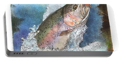 Rainbow Trout Portable Battery Charger