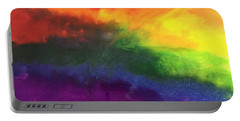 Rainbow Veins Portable Battery Charger