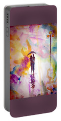 Rainbow Walk Of Love Portable Battery Charger