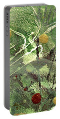 Rainforest Portable Battery Charger by Angela L Walker