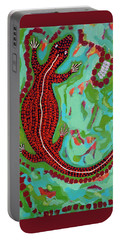 Rainforest Skink Portable Battery Charger