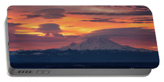 Rainier Sunrise Lenticular Cloudscape Portable Battery Charger