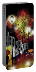 Raining And Color Portable Battery Charger