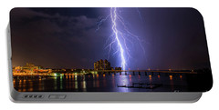Raining Bolts Portable Battery Charger