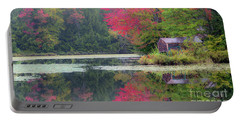 Rainy Day Autumn Portable Battery Charger