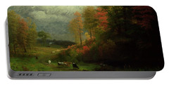 Rainy Day In Autumn Portable Battery Charger
