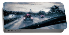 Rainy Day In July Portable Battery Charger
