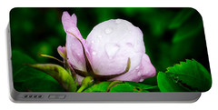 Rainy Day Rose Number 2 Portable Battery Charger
