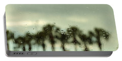 Rainy Daze Portable Battery Charger by Christopher L Thomley