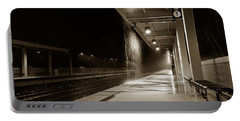 Rainy Night In Baltimore Portable Battery Charger