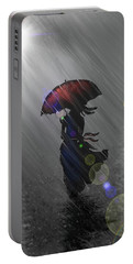 Rainy Walk Portable Battery Charger