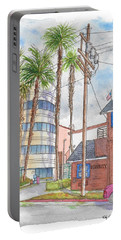 Raleigh Studios In Hollywood, California Portable Battery Charger